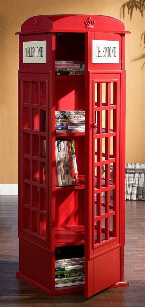 telephone booth cabinet book shelf product design