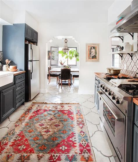 Rugs In Kitchen by Make Your New Rug Work In Any Room