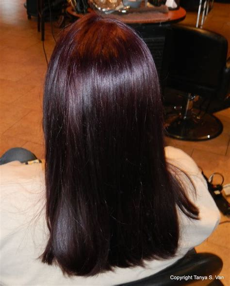 rusk hairstyles colors dark and violets on pinterest