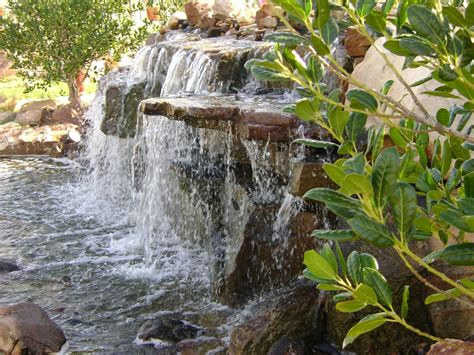 water features backyard waterfalls garden water folat