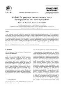 methods for gas phase measurements of ozone ozone