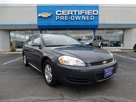 pre owned chevy impala pre owned 2011 chevrolet impala ls 4dr car in naperville