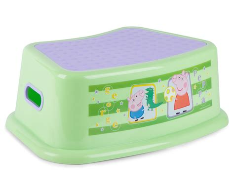 Peppa Pig Step Stool by Catchoftheday Au Peppa Pig Step Stool