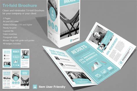 brochure layout styles tri fold corporate brochure templates on creative market