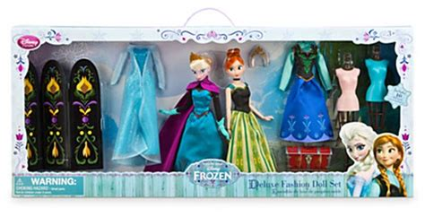 frozen dolls ebay disney store frozen elsa deluxe fashion doll set ebay