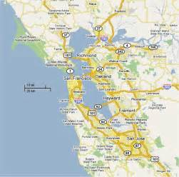 Map San Francisco Area by Map Of San Francisco Area Submited Images