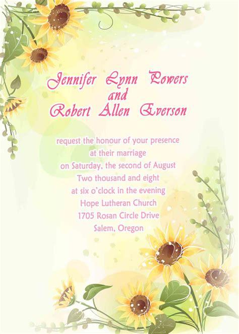 Yellow Wedding Invitations At Elegant Wedding Invites