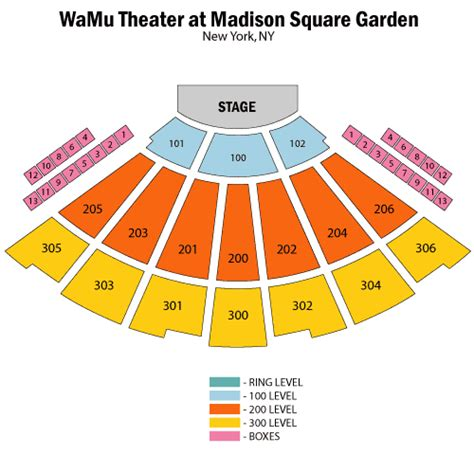 theater at square garden seating chart sesame live february 26 tickets new york the