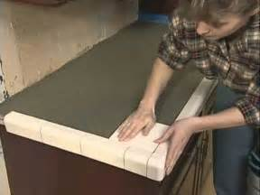 Laying Tile On Countertop by Installing Tile Countertops