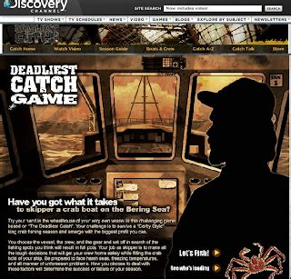 deadliest catch discovery web 2 tools engage and educate august 2010