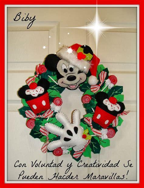 coronas navideas de fieltro con voluntad y creatividad se pueden hacer maravillas
