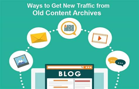 6 ways to get your 6 ways to get new traffic from content archives