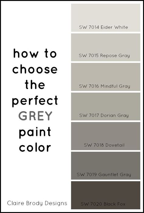 gray paint colors how to choose the grey paint color brody