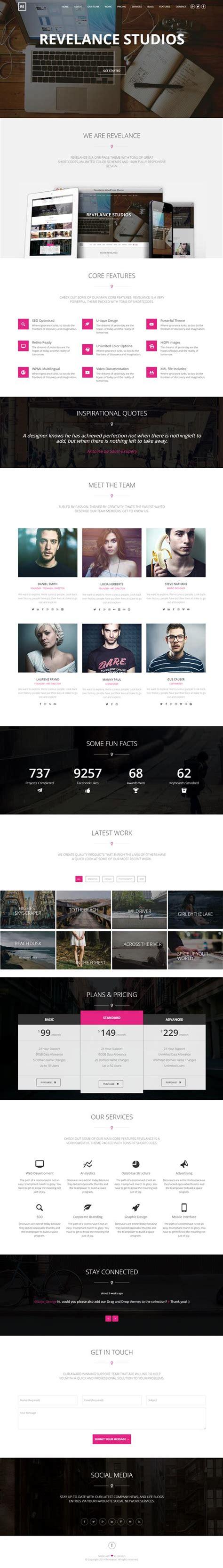 new responsive html5 website templates design graphic