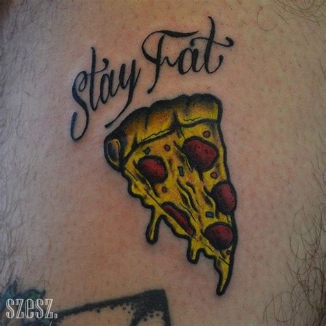 pizza slice tattoo 25 pizza designs