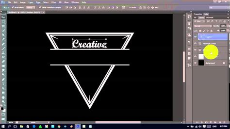 tutorial  membuat logo vintage  photoshop cs youtube