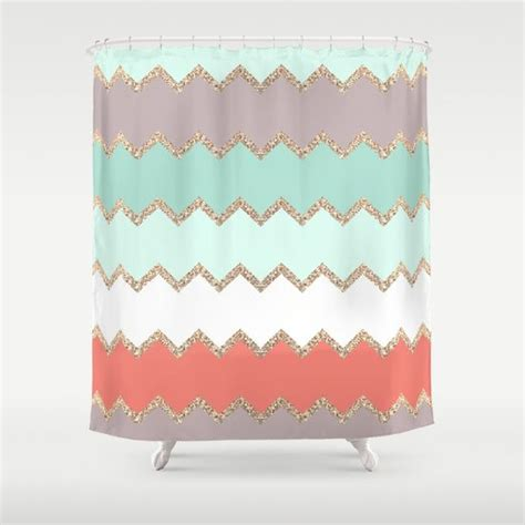 shower curtain coral 25 best ideas about coral shower curtains on pinterest