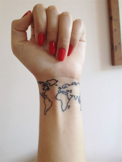 sara robertson continents tattoo tat me up pinterest