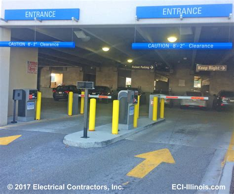 parking garage access control systems