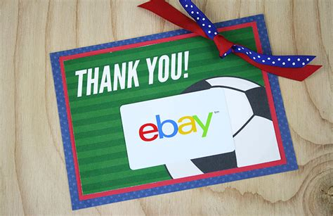 Do Visa Gift Cards Work On Ebay - free printable this soccer gift for coach is a kick gcg