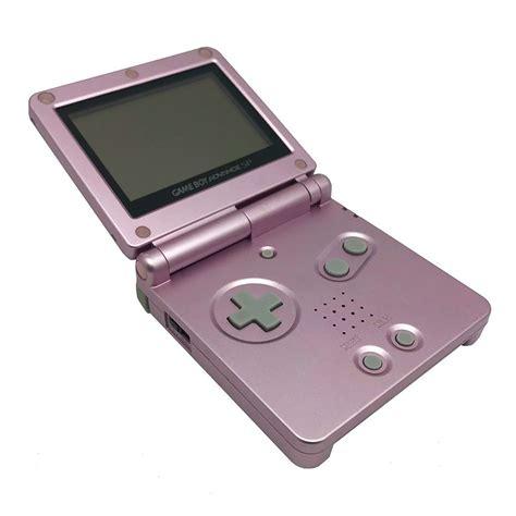 gameboy console nintendo boy advance sp pearl pink console grade b