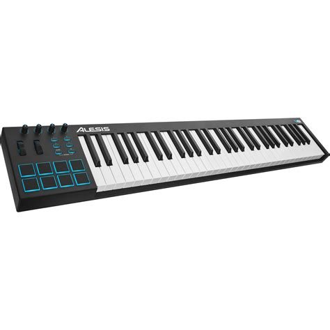Keyboard Midi Usb alesis v61 61 key usb midi keyboard controller v61 b h photo
