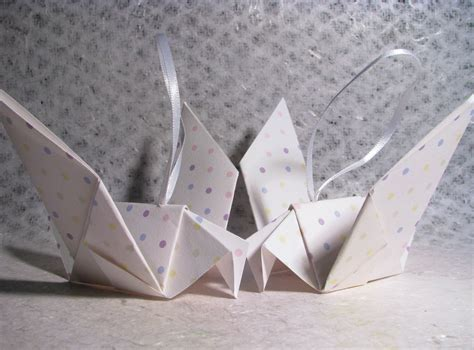 simple paper origami doves interior design idea