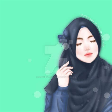 wallpaper girl muslimah beautiful muslimah hijab girl 21 by mylucidheartwork on