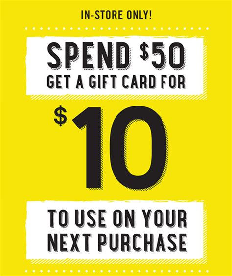 Forever 21 Canada Gift Card - forever 21 10 gift card when you spend 50 in store canadian freebies coupons