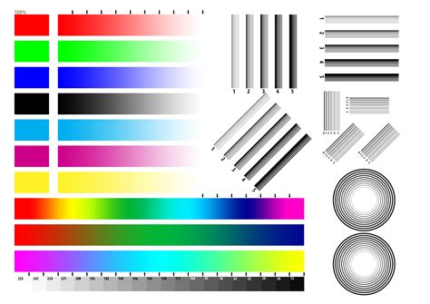 test pattern epson printer test page color free draw to color