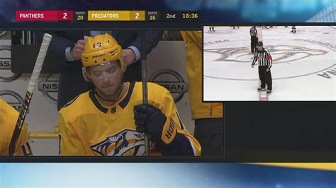 nhl situation room review fla nsh 1 24 of the second period nhl
