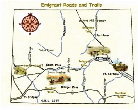 map of oregon trail 1850 1850 yesteryear once more