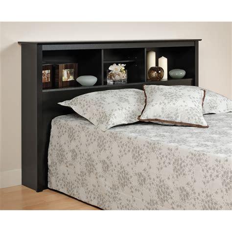 queen shelf headboard prepac black full queen bookcase headboard ebay