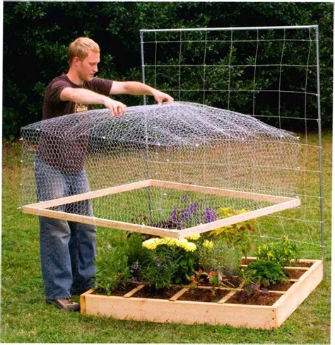 build a square foot garden wired how to wiki wire mesh quot lid quot to keep out animals nice i