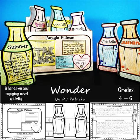 wonder 3 activity 8466812717 17 best images about novel studies grades 3 6 on follow me to hidden pictures and