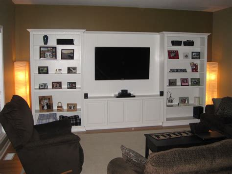 how to build a custom house house project quot built in quot entertainment center the style