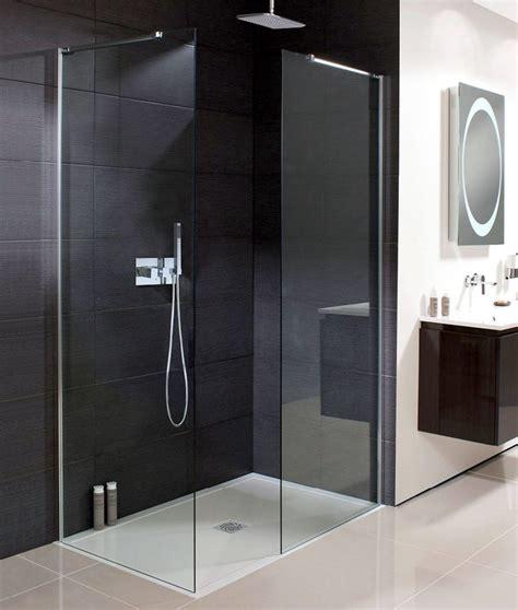 Simpsons Shower Doors Simpsons Design Semi Frameless Walk In Shower Panel Uk Bathrooms