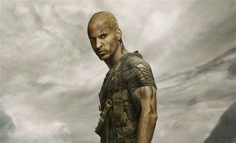 the 100 ricky whittle unhappy with the fate of lincoln