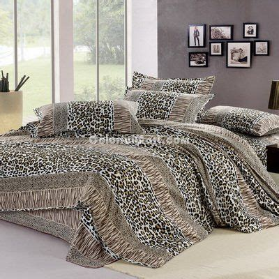 cheetah bedroom set 22 best images about cheetah print bed set on pinterest