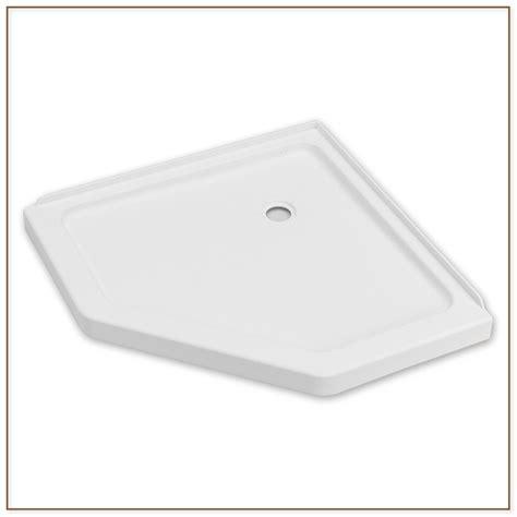 lowes shower pans standard height shower base