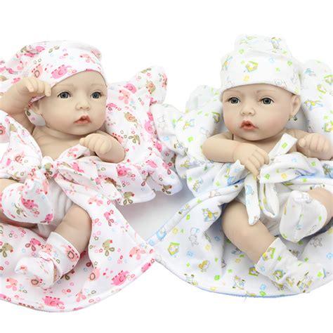 Baby Alive 11 Vinyl Mini Newborn Baby Dolls Boy Boneka Gift 174 alive reborn babies 11 inch inch lifelike ᐅ silicone silicone vinyl boy and
