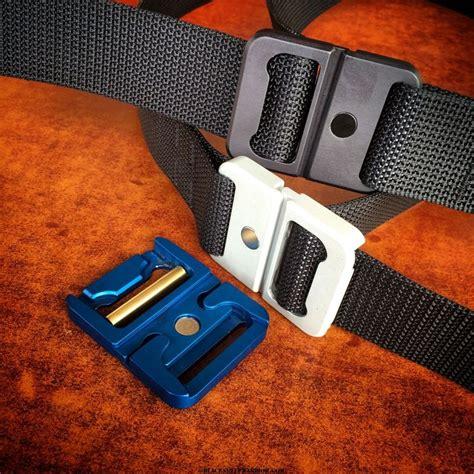 Ralliant Pin Belt Carbon magnetic tactical belt buckle kickstarter project carbon tactics gun leather and