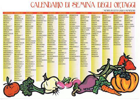 calendario semina fiori il calendario delle semine segui la guida per il tuo orto
