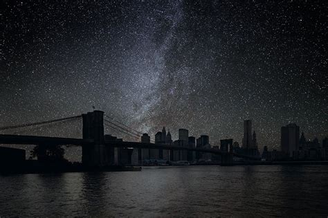 how new york city looks like without lights big apple