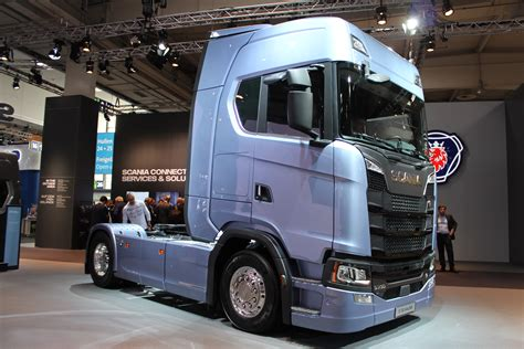 scania  series hp      iaa  hannover september  commercial vehicle