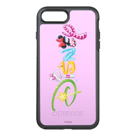 disney logo girl characters otterbox symmetry iphone   case case