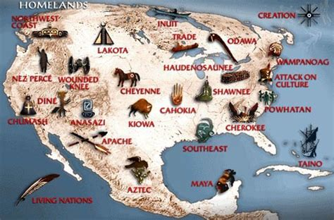 america map indian tribes fry s just another weblog