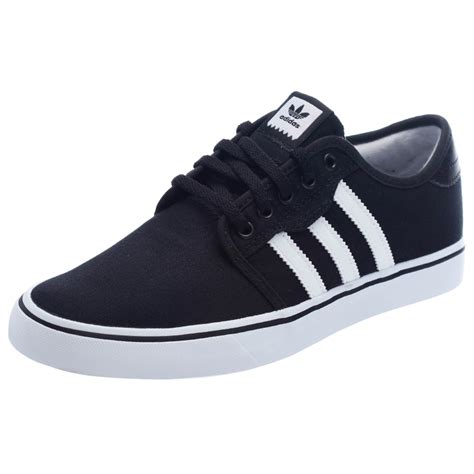 black and white adidas seely shoes for