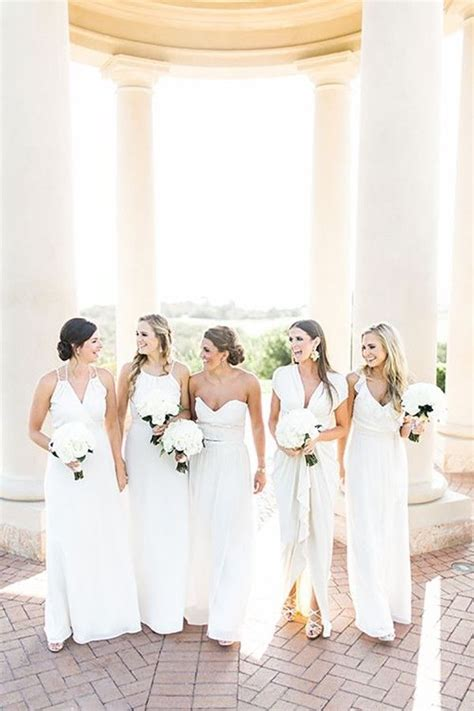 White Bridesmaid Dress by 17 Best Ideas About White Bridesmaid Dresses On