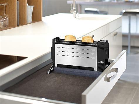 einbau schubladen einbautoaster ritterwerk innovativer toaster f 252 r die